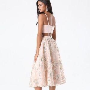 BEBE Sequined Midi skirt